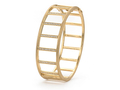 18kt yellow gold Minimalist bar bracelet with .8 cts diamonds. Available in white, yellow, or rose gold.