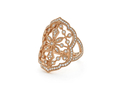 18kt rose gold Comtesse ring with .7 cts diamonds. Available in white, yellow, or rose gold.