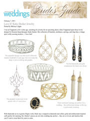 Martha Stewart Weddings - February 2011